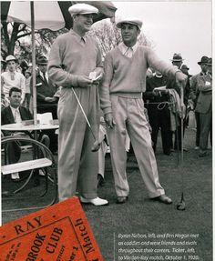 NEW HAVEN 200: Ben Hogan, Byron Nelson put on show at Race Brook CC- The New Haven Register
