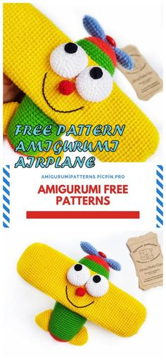 We bring you all kinds of sharing about Amigurumi. In this article, amigurumi airplane free crochet pattern is waiting for you. Crochet Hat Tutorial, Easy Crochet Hat, Crochet Stars, Crochet Dolls, Free Crochet, Amigurumi Patterns, Crochet Patterns, Stuffed Toys Patterns, Crochet Animals