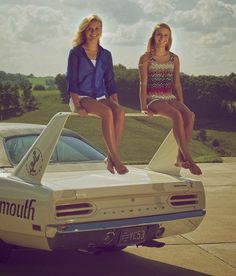 Oh, that's what the wing of a Plymouth Superbird is for...