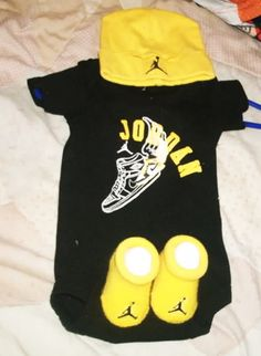 Baby jordan outfit, super cute. Please 'Like', 'Repin' and 'Share'! Thanks :)