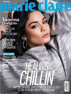 Vanessa Hudgens poses for Marie Claire Indonesia January/February 2019 Estilo Vanessa Hudgens, Vanessa Hudgens Style, Fashion Magazine Cover, Fashion Cover, Magazine Covers, Teen Choice Awards, High School Musical, Marie Claire, Nickelodeon