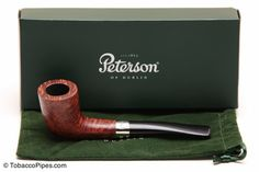 Peterson Aran 268 Tobacco Pipe Fishtail Kit