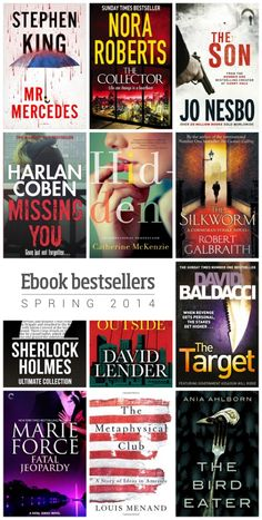 Most interesting #book releases of spring 2014 - New Stephen King, Jo Nesbo, Nora Roberts, and Robert Galbraith (J.K. Rowling)