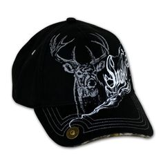 BLACK 38 SPECIAL BASEBALL HAT WITH GUN DESIGN One Size Fits All,.Solid back.