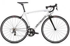 specialized allez e5 elite road bike white&black