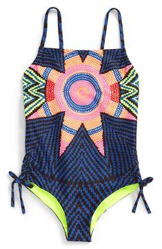 a28e6e204b Mara Hoffman One-Piece Swimsuit (Toddler Girls