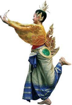 Yantra, Danças Femininas- dança tailandesa