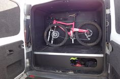 More bike day van questions (Vivaro et al or Vito q's) « Singletrack Forum