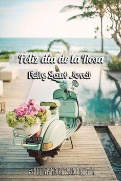 Feliz día de la Rosa. Feliç Sant Jordi! by plenamare #santjordi #rosa #wedding