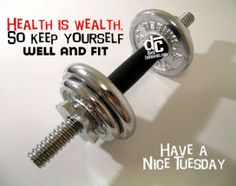 #Healthiswealth  ❤  #HappyTuesday