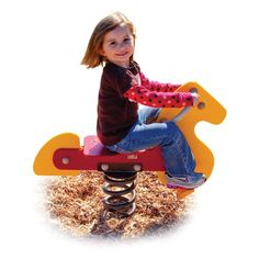 Ultra Play Horse Spring Rider with Optional Mount Kit - UPS055