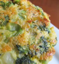 Recipe For Cheesy Roasted Broccoli Patties