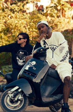 ASAP Rocky x Skrillex