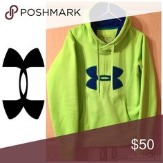 🎉Host Pick🎉 Women's Under Armour Hoodie XS 🎉Host Pick 5/30/2017🎉 Women's Under Armour Semi Fitted Cold Gear Hoodie XS, Like New Worn Once, From Smoke & Pet Free Home Under Armour Tops Sweatshirts & Hoodies