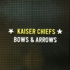 "New Music of the Day: Kaiser Chiefs - ""Bows & Arrows"""