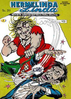 Comics Mexicanos de Jediskater: Hermelinda Linda No. 389, Los Cuijes, Abril 4 de 1... Comics Mexico, Popeye Cartoon, Old School Cartoons, Mexican Art, Vintage Comics, Retro, Tv Series, Nostalgia, Dads