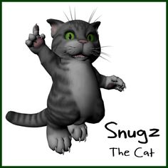 So we've finished up our first animation which we'll be making available to view very soon. We just want to finish up our formatted project.  In the meantime, over the next week we're going to post some shots of each of our main characters for you to take a look at. So today for your enjoyment, here's a shot of Snugz.. shes something of a busy body, smart, curious, a bit of a science maven.. real name Sophie.. but do NOT call her Sophie.. seriously..
