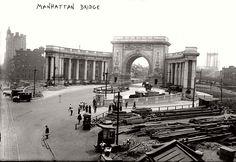 vintage-manhattan-bridge-under-construction-new-york-1909-02