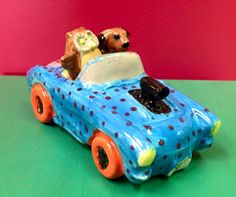 Paint some of our tiny toppers so your convertible can have a couple drivers in the front seat!