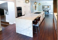 Pump Hill Residence • Statuario Marble   #statuario #marble #iconstonetile #inspiration #creation #design #space #decor #interior #home #yyc