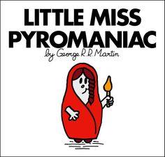 Little Miss Melisandre of Asshai