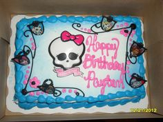 Walmart Birthday Cakes Monster High | Pin Walmart Birthday Cakes Cake on Pinterest