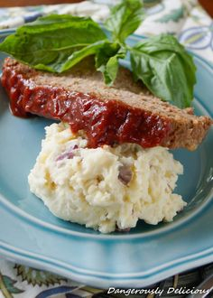 Gluten Free Meat Loaf with Rice Krispies