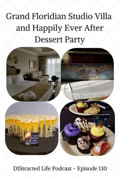 Walt Disney World July 2017 Trip Report Part 1.  Grand Floridian Studio Villa and Happily Ever After Dessert Party.  Podcast epsiode