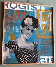 Drogist - Kunst aan de muur in Café Boeien Katwijk aan Zee