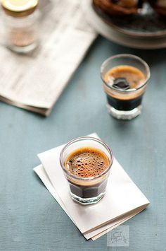 Shot of espresso.