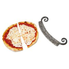 Steel Pizza cutter....(oooooo ahhhh!!!!)...from Uncommon Goods.  http://www.uncommongoods.com/product/steel-pizza-cutter?utm_medium=shopping+sites&utm_source=amazon&utm_campaign=25214