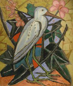 """Ada Gilmore (1882-1955) """"The Heron,"""" c.1934"""