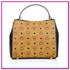 MCM TASCHE VINTAGE Handtasche Crossbodybag Täschen schwarz