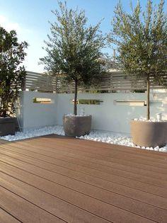 Small Backyard Gardens, Backyard Garden Design, Small Garden Design, Terrace Garden, Backyard Landscaping, Outdoor Gardens, Terrace Ideas, Garden Ideas, Small Backyards