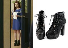 "Lee Se-Young in ""Trot Lovers"" Episode 9.  Shoesone No. 2305 Boots  #Kdrama #TrotLovers #트로트의연인 #LeeSeYoung #이세영"