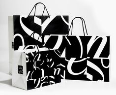 Famed Designer Michael Bierut Doesn't Believe in Creativity | Saks Fifth Avenue bag.  | Credit: Pentagram | From WIRED.com