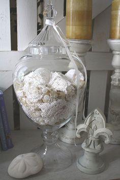 Jar of Lace