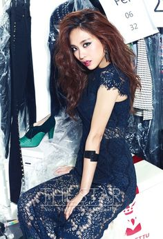 miss A's Fei The Star Korea Magazine October Issue '13