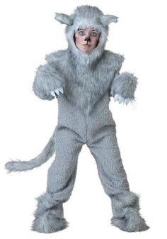 Disfraz De Lobo Para Niños, Envio Gratis - $ 1,600.00
