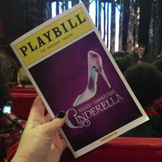 Review of Rodger's + Hammerstein's Cinderella on Broadway- the perfect show for your little princess!  #NYC #Broadway #Musicals