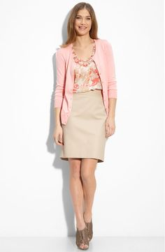 Summer Dresses Women Over 50 | aka How important is it to have a third piece like a blazer or ...