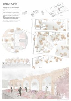 Interior Design Presentation, Architecture Presentation Board, Presentation Layout, Architectural Presentation, Architecture Panel, Architecture Graphics, Architecture Portfolio, Landscape Architecture, Portfolio Design Layouts
