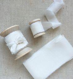 Ivorie – froufrouchic | hand-made silk ribbon