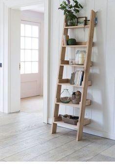 Мебель ручной работы. Ярмарка Мастеров - ручная работа. Купить Полка лестница. Handmade. Полка из дерева, полка настенная