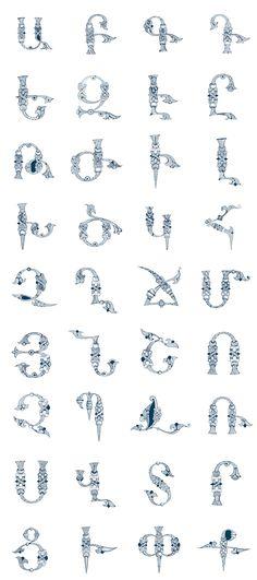 Armenian Alphabet by Narek Gyulumyan on Behance