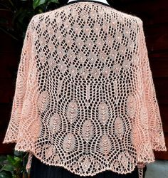 """This listing is for a shawl knitting pattern not an actual hand knit item. I was inspired to name this lovely shawl design, """"Wings of a Prayer"""" because I had been in deep thought and prayer for a very dear friend. What better way to send those prayers than on the wings of a beautiful prayer shawl ♥ ….a prayer in every bead and nupp!  Knit top down in a crescent shape and flows into a half circle design, and finished off with lovely lace scallops where you can choose a beaded/non-beaded picot…"""