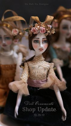 """Melia"" Doll Ornament. Image © Christine Alvarado, 2012."