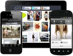 Fancy - (Pinterest + ecommerce) http://www.aaanetsolution.com and what you are looking at...