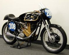 AJS Cafe Racer Motorcycle