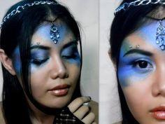 Halloween makeup: Fairy/Nymph - YouTube